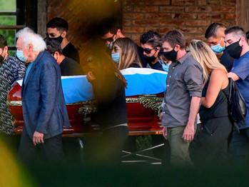 El funeral de Diego Maradona: uno por uno, quiénes estuvieron en el último adiós en el cementerio