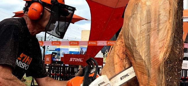 """En Expoagro, Stihl realizará la demostración """"Uso eficiente de la madera"""""""