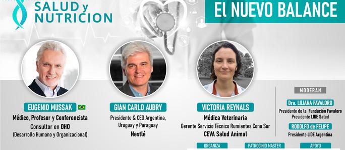"""LIDE Argentina: Fórum Nacional de Salud y Nutrición """"El nuevo balance"""""""