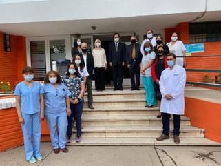La Embajada del Japón donó USD 61.857 de equipamientos médicos a un hospital municipal de Córdoba