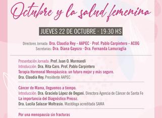 Invita Fundación Craveri: Jornada conjunta AAPEC y ACOG