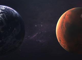 """Marte estará hoy """"cerca"""" de la Tierra y podrá observarse en el cielo"""