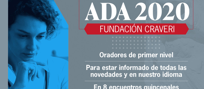 La Fundación Craveri dio inicio al curso TOP TOPICS ADA 2020