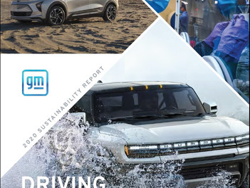 General Motors publica su Informe de Sustentabilidad, con una línea base para acelerar los objetivos