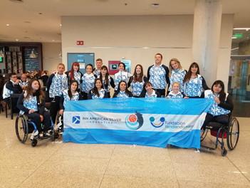 """Pan American Silver Arg seguirá siendo sponsor de """"Las Lobas"""" el equipo femenino de básquet adaptado"""