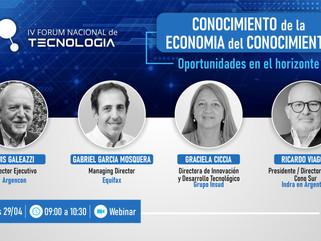 IV Forum Nacional de Tecnología: Conocimiento de la Economía del Conocimiento