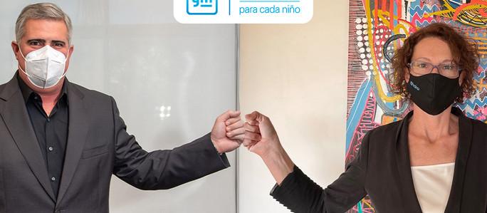 General Motors renueva su compromiso con UNICEF, unidos por los derechos de los niños en Argentina