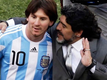 Juntan firmas para que no se vuelva a usar la camiseta 10 en la Selección argentina