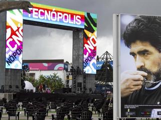 Tecnópolis abre sus puertas nuevamente y homenajeando a Maradona