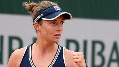 Histórica: Nadia Podoroska venció a la N° 5 del mundo y es semifinalista de Roland Garros
