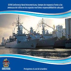 Se inaugura la vigésimo octava versión de la Conferencia Naval Interamericana