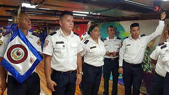 Felicitación bomberos Oriente Antioqueño al Buque Gloria Aniversario No. 50