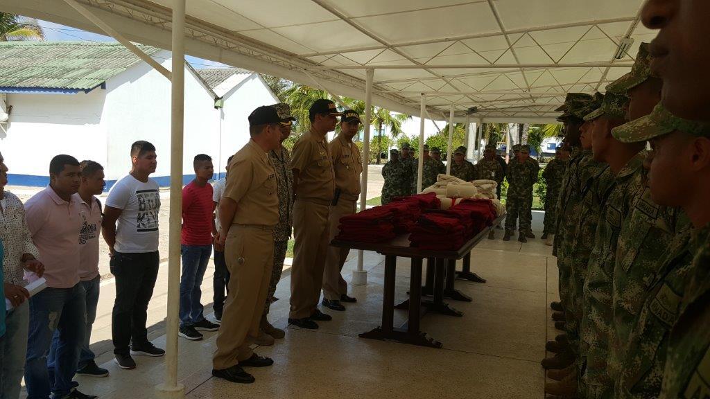 05292016 Donación Tropas San Andrés