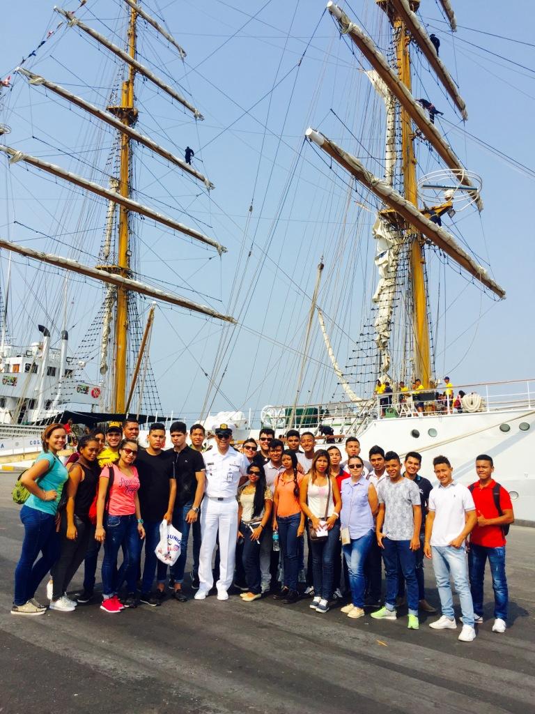 Estudiantes en ARC Gloria