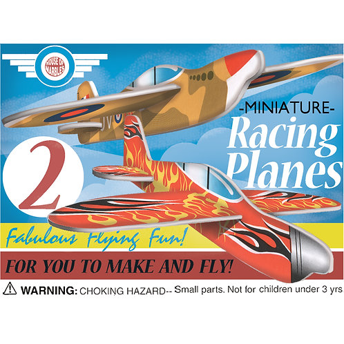 Mini Fighter Racing Planes - House of Marbles