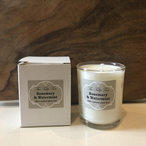 The Tulip Tree Small Natural Plant Wax Candle
