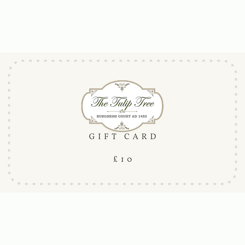 The Tulip Tree Gift Card £10