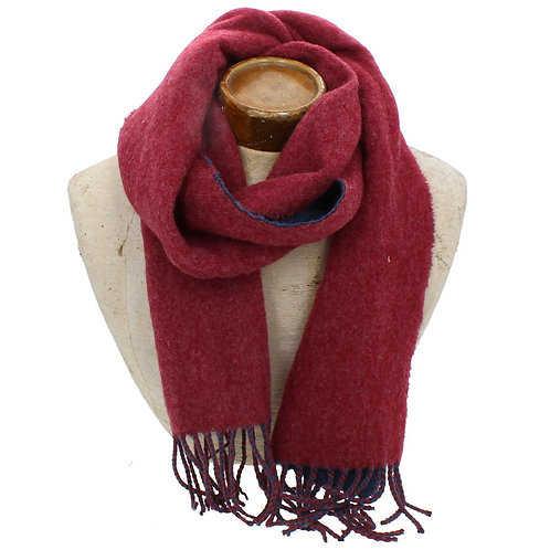 Hector Mens Scarf - Navy / Red