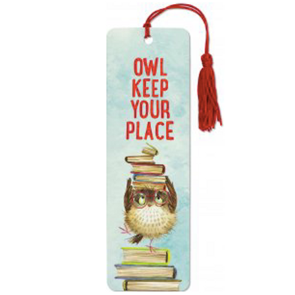 Owl Keep Your Place Bookmark
