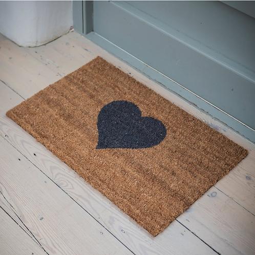 Large Heart Doormat