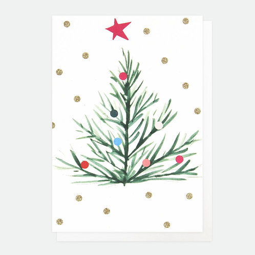Painted Tree Small Card Pack of 10