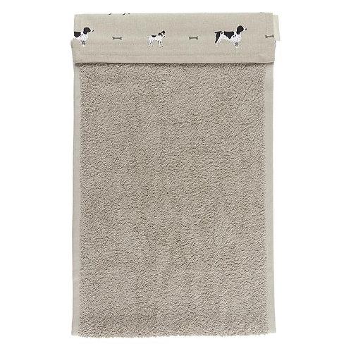 Sophie Allport Woof Roller Hand Towel
