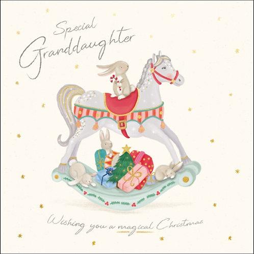 Granddaughter Christmas Blessings