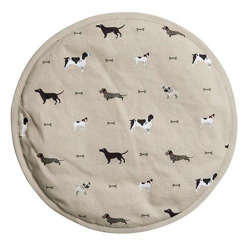 Sophie Allport 'Woof' Circular Hob Cover