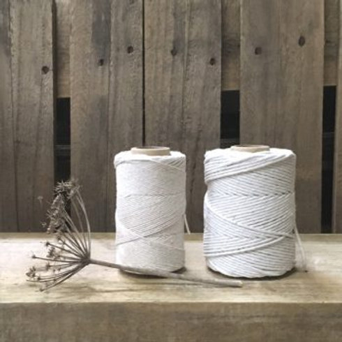 Heavy Polished Cotton Spool String