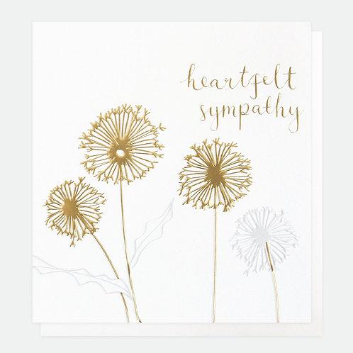 Heartfelt Sympathy Dandelion