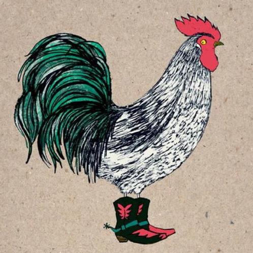 Cock-a-doodle Dude Card