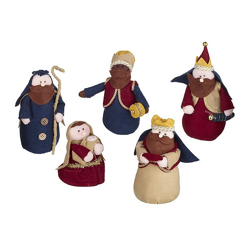 Fabric Nativity Set
