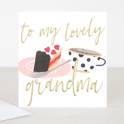 To My Lovely Grandma