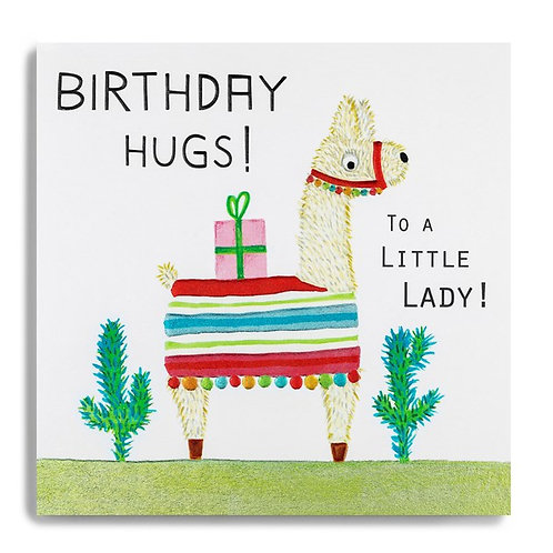 Birthday Hugs! To A Little Lady