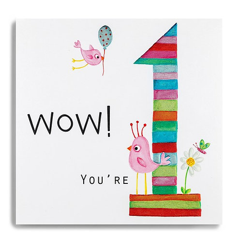 1 Today Wow! Birthday Card
