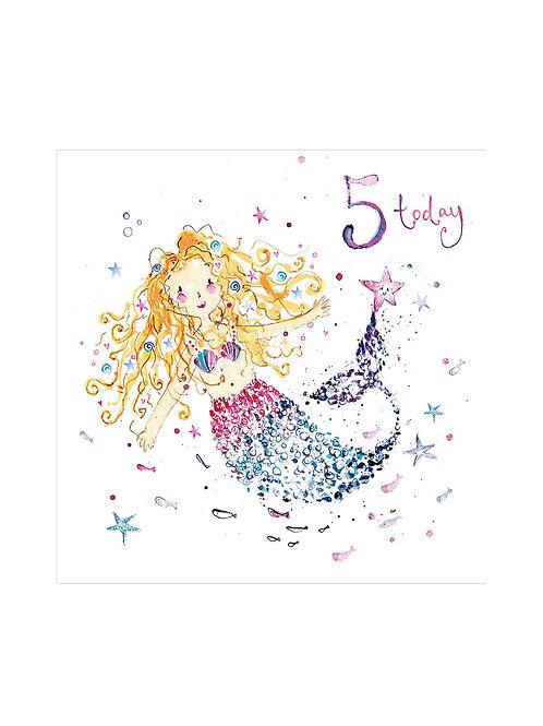 5 Today Birthday Card