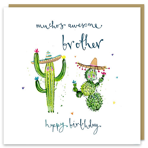 Brother Cacti Card