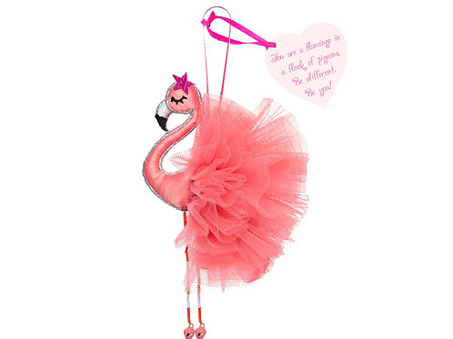You are a Flamingo in a Flock of Pigeons… – Flamingo decoration