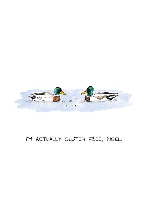 Gluten Free Card