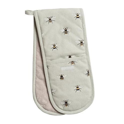 Sophie Allport 'Bees' Double Oven Glove