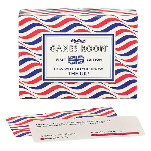 Ridley's Games Room How Well Do you Know the UK