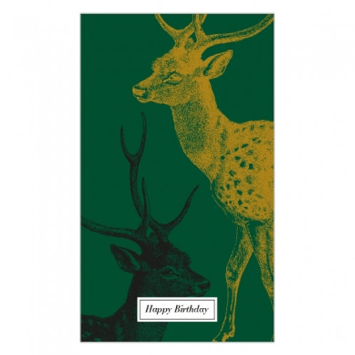 Happy Birthday Stag Hang Card