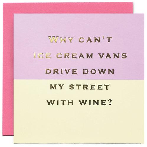 Wine Vans?