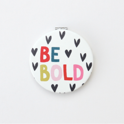 Be Bold Pocket Mirror