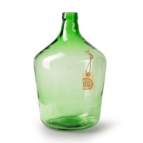 Casa Verde Small Eco Bottle Vase Maggie Green