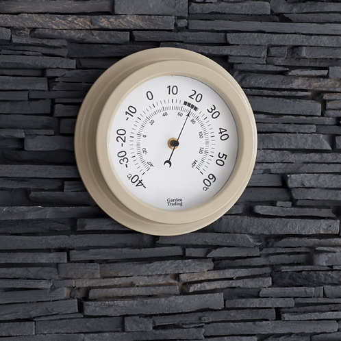 Clay Wall Thermometer