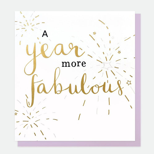 A Year More Fabulous
