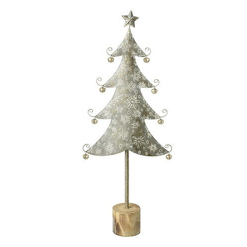 Small Metal Tree With Bells