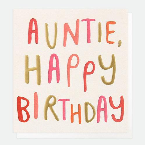 Auntie Happy Birthday