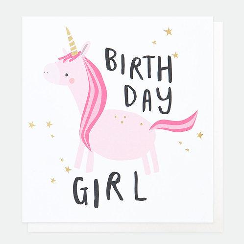 Birthday Girl Unicorn